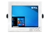 STX X7012-RT Harsh Environment Computer with Resistive Touch Screen