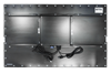 X7555 Industrial Panel Monitor - Rear View - Matte Black Finish