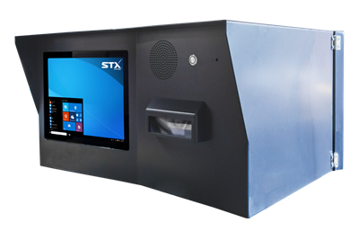 XCCK15-P Outdoor kiosk with printer