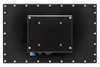 X7600 Industrial Panel Monitor - Rear View - Matte Black Finish