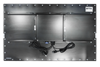 X7600 Industrial Panel PC - Rear View - Matte Black Finish