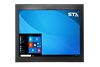 X7517-M-NT Industrial Panel Monitor in Matte Black No Touch Screen